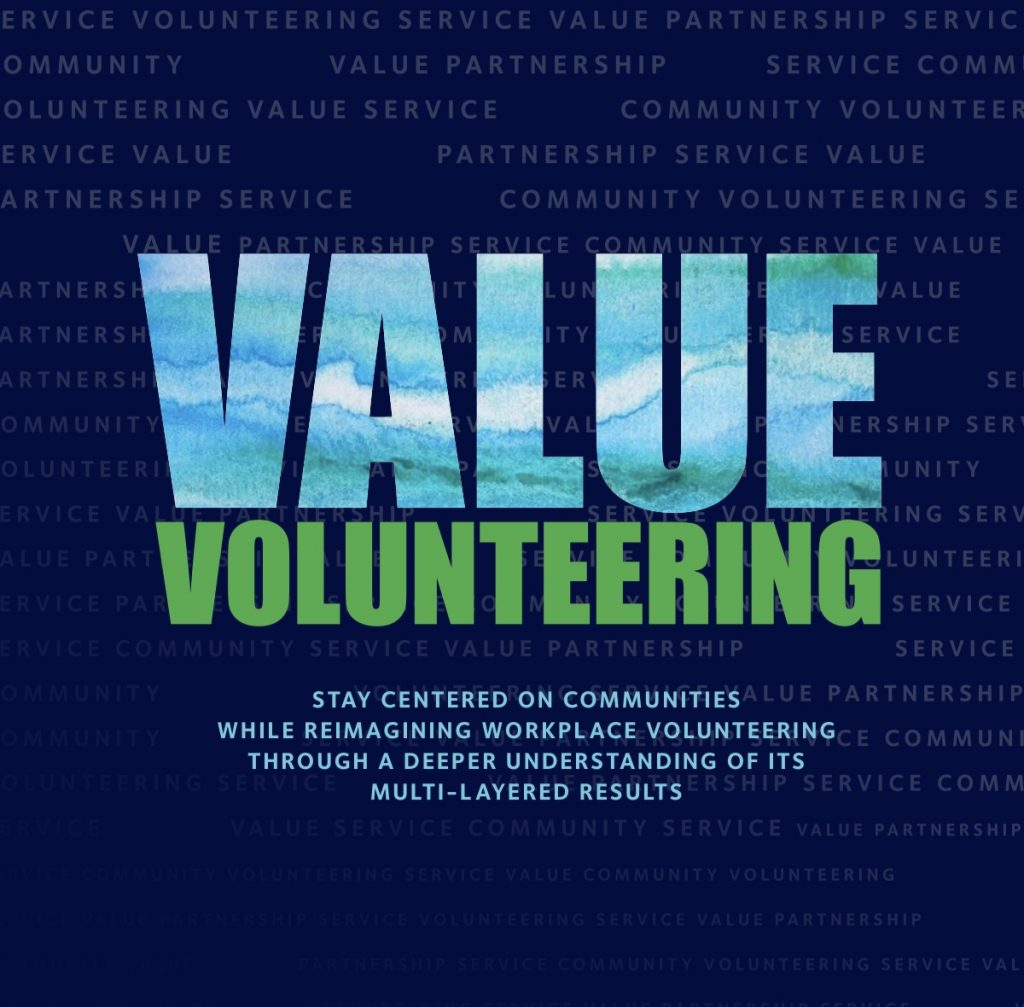 CECP Value Volunteering Report Cover Image